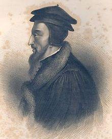Johannes Calvijn, geboren als Jehan Cauvin (Noyon, 10 juli 1509 – Genève, 27 mei 1564), was een belangrijke Frans-Zwitserse christelijke theoloog tijdens de reformatie, naar wie een protestants-christelijke stroming, het calvinisme, is genoemd. Als reformator wordt Calvijn vaak in één adem genoemd met Maarten Luther, die zijn 95 stellingen poneerde in 1517, toen Calvijn acht jaar oud was.