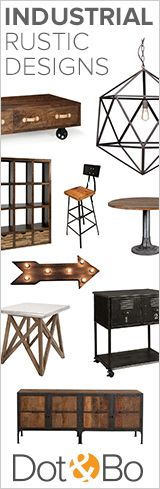 Industrial Rustic Furniture & Décor | Shop Now at dotandbo.com