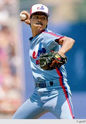 "Dennis Martinez - ""El Presidente"" - Pitcher, Montreal Expos"