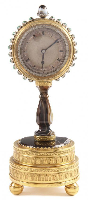 Russian Faberge Inscribed Clock, C.1870 : Lot 4