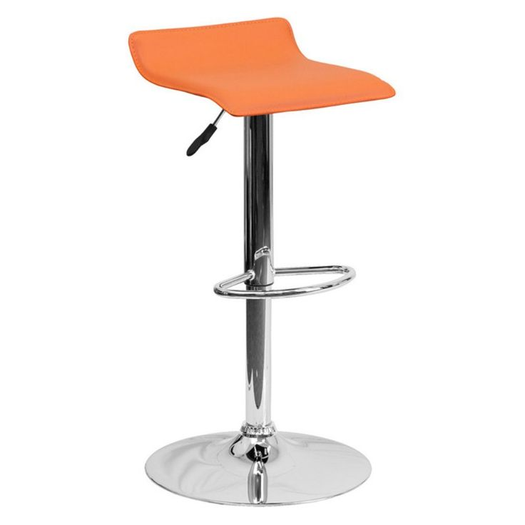 Flash Furniture Contemporary Vinyl Adjustable Bar Stool With Chrome Base  Bar Stools At HayneedleBest 25 Adjustable Bar Stools Ideas On Pinterest Ikea  Hack