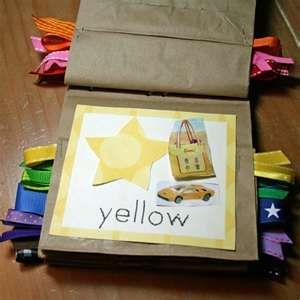 activities for kids Free Printable Color Book {preschool craft} photo