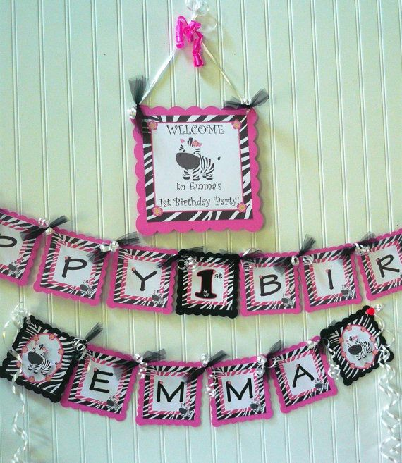 Best 25+ Zebra Birthday Decorations Ideas On Pinterest