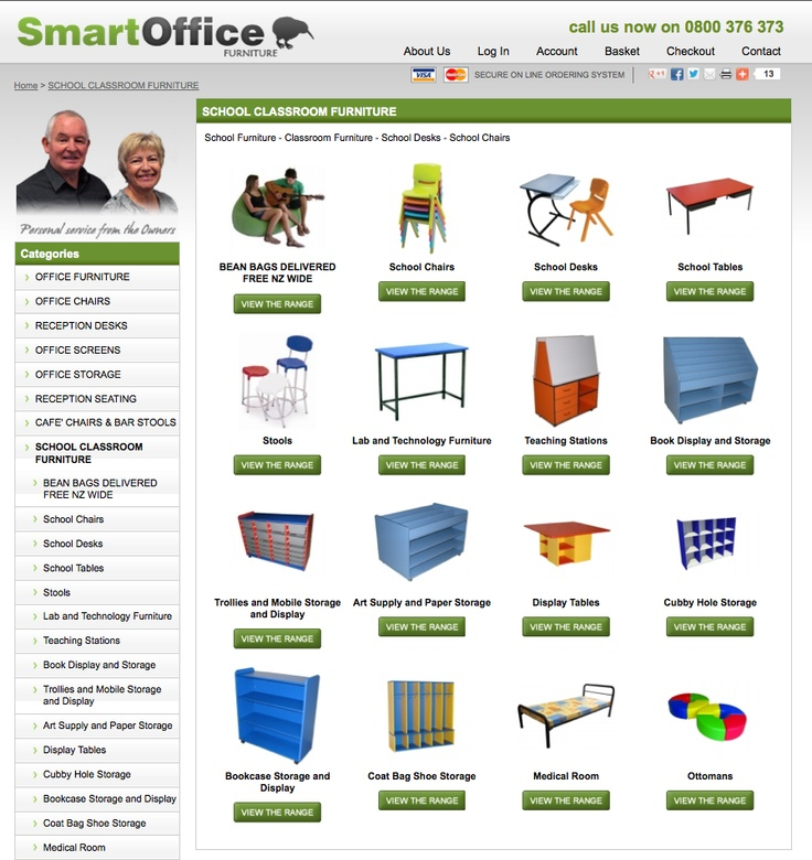 hundreds of options to choose from, get all your office and school furniture online here
