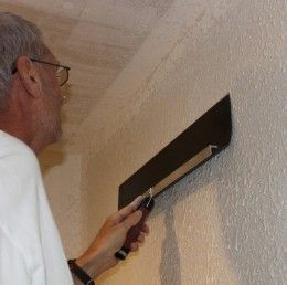How To Apply A Knockdown Texture on Your Ceiling or Walls