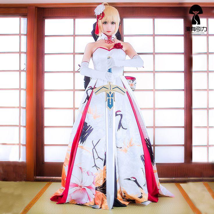 Cheap Sable Destino Cosplay/Gran Pedido Vestido De Novia Japonesa Kimono Ascosing Traje, Compro Calidad   directamente de los surtidores de China: Sable Destino Cosplay/Gran Pedido Vestido De Novia Japonesa Kimono Ascosing Traje