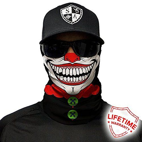 Salt Armour Shield Clown Face Shield Mask tubular bandanas Hunting Fishing Outdoor   http://huntinggearsuperstore.com/product/salt-armour-shield-clown-face-shield-mask-tubular-bandanas-hunting-fishing-outdoor/