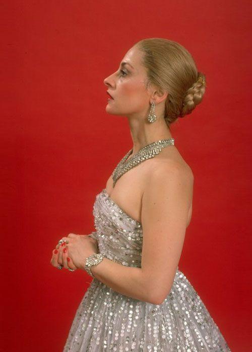 Patti Lupone as Eva Peron in Evita 1970s --