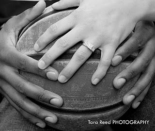 Not a fan of the ring but of the basketball photo idea! MAVS, duhh