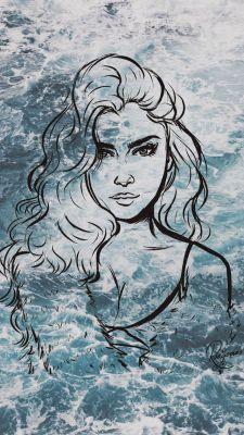 Marlene era majestosa como o mar, e tudo que Sirius queria era poder admira lo em paz