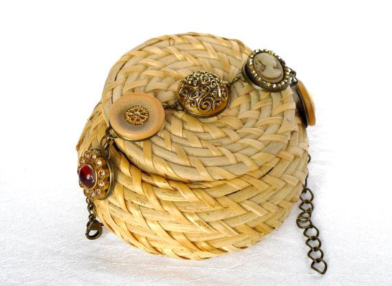 Armband  Vintage Stil Gypsy Armband bronze von JewelsbyLonasART