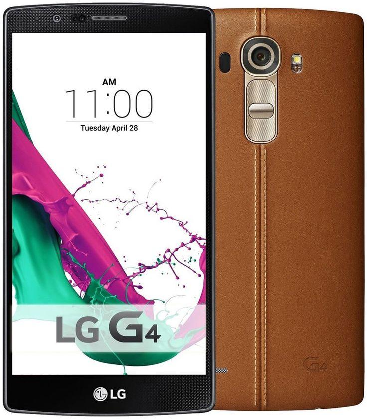 LG G4 Kahverengi Deri Cep Telefonu (İthalatçı Firma Garantili) ::