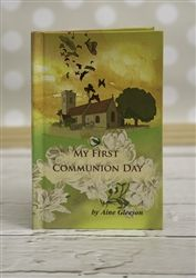 This Irish-made book tells the story of a child's First Holy Communion Day. The story is personalised to every child and details the morning of the communion, getting ready for the ceremony, the excitement and anxiety of the child, the ceremony and the celebrations. Perfect Communion gift and keepsake for boys and girls! Available from wowwee.ie for €20.00