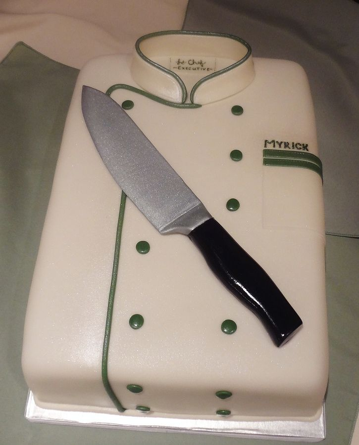 Covered in fondant with gumpaste knive.  Hand-painted tag.