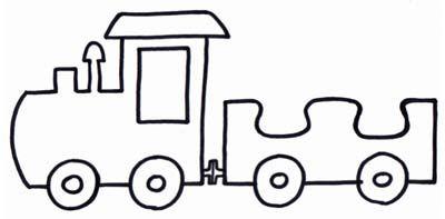 Il trenino. Per la prima lezione i bambini si presentano scrivono il proprio nome sul vagone da colorare e si disegnano. Poi si uniscono tutti i vagoni della classe a formare un trenino che viaggerà tutto l'anno per andare a conoscere Gesù! Le catechiste sono le locomotive.