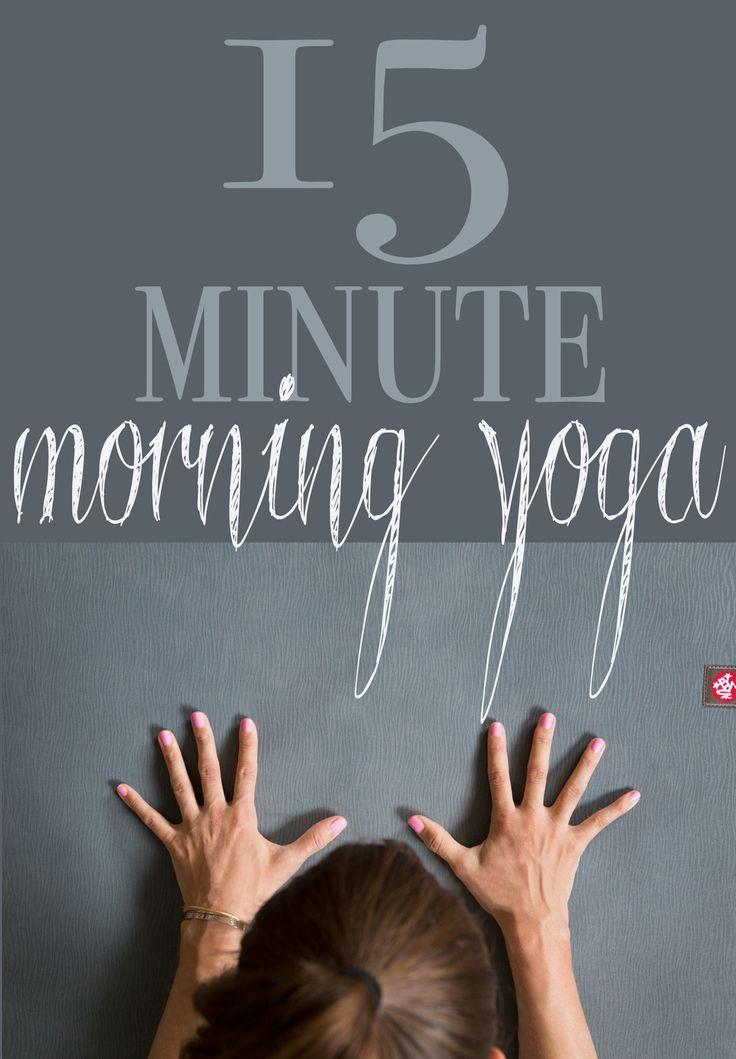 Pin it! 15 Minute morning yoga video. Photo: Manduka eKo Lite mat (review) Video: Manduka black mat PRO(review)