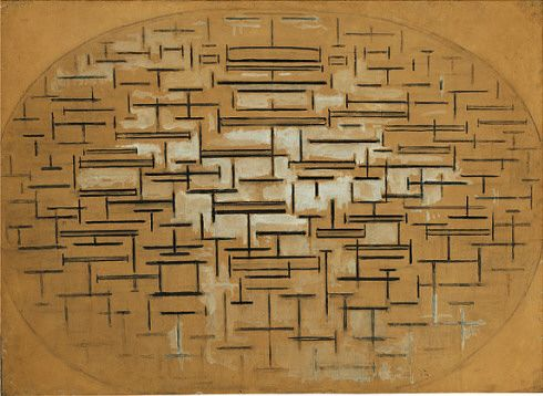 Collection Online   Piet Mondrian. Ocean 5. 1914, Holland - Guggenheim Museum