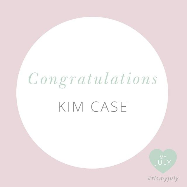 The winner of our My July self love pack is....KIM CASE! Thank you all for following along with My July! Read more about My July here: http://www.thelittlesage.com/my-july-2014/
