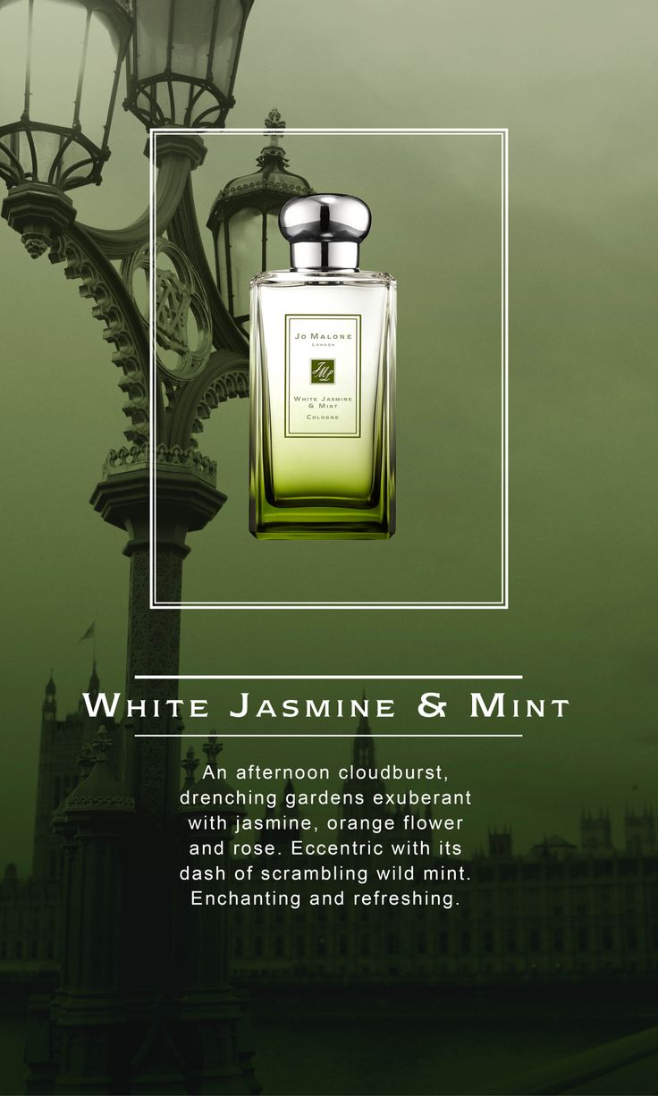 Introducing the new @J O Malone London #LondonRain collection at House of Fraser