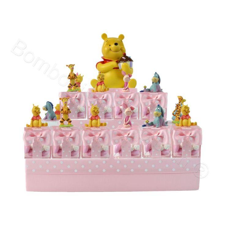 Piramide Winnie Pooh #torta #piramide #bomboniera #disney #novita
