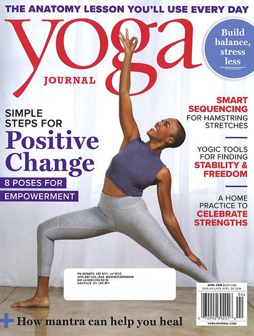 Yoga Journal April 2018