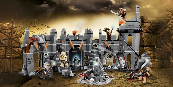 LEGO.com The Hobbit™ Products - Dol Guldur Battle