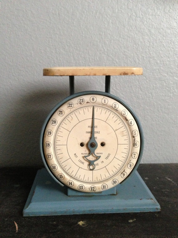 16 best Vintage Scale Collection images on Pinterest