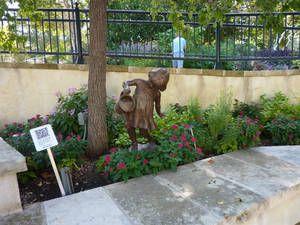 Ботанический сад в Сан Антонио.Общий обзор. (Сан-Антонио, Соединенные Штаты Америки)