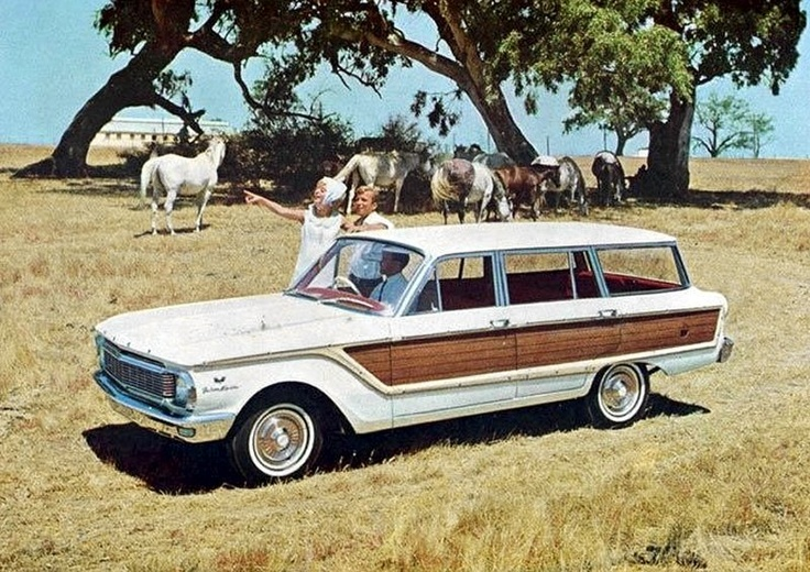 1965 XP Ford Falcon Squire (Australian built 'Station Wagon')