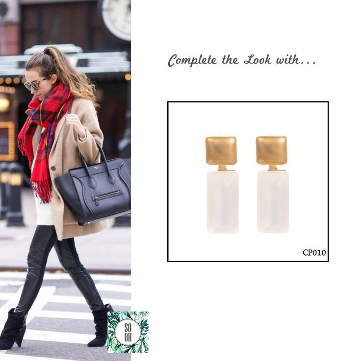 Ref: CP010 Medidas: 2.5 cm x 0.8 cm So Oh: 5.99  #sooh_store #onlinestore #style #inspiration #styleinspiration #brincos #earrings #fashion #shoponline #aw2016 #aw1617 #winterstyle