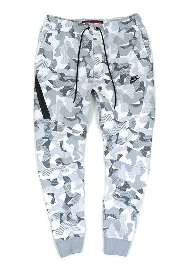 Nike Tech Fleece Men's Joggers White