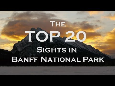 TOP 22 Banff Attractions - All Things To Do - Scenic Drive - Lake Louise and Jasper - YouTube