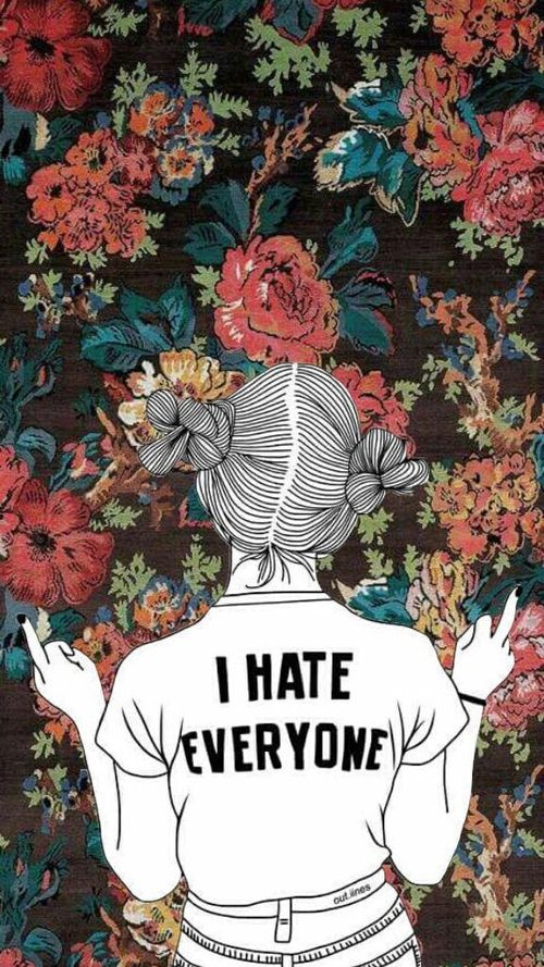 I hate everyone by panna .