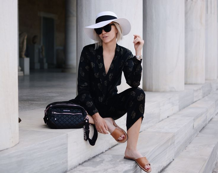 travel Panama dressing mz Wallace bag Greece Tilley hats