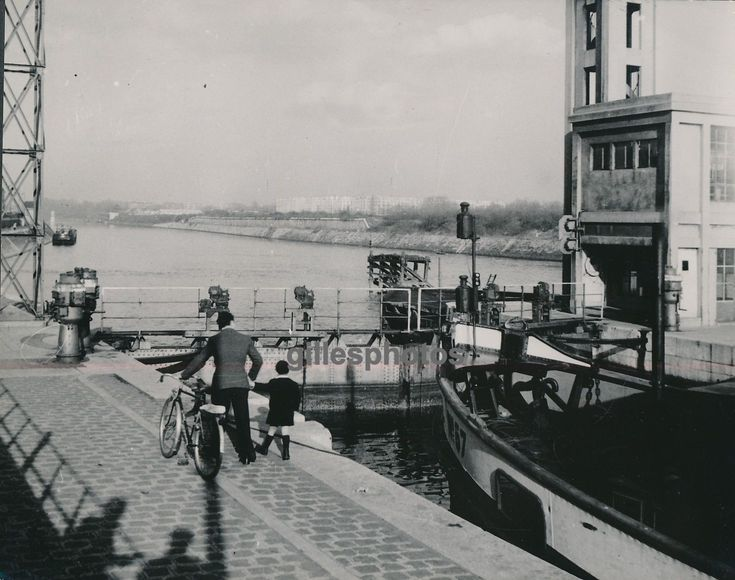 SURESNES c. 1950 - Canal Ecluse - DIV671 | eBay