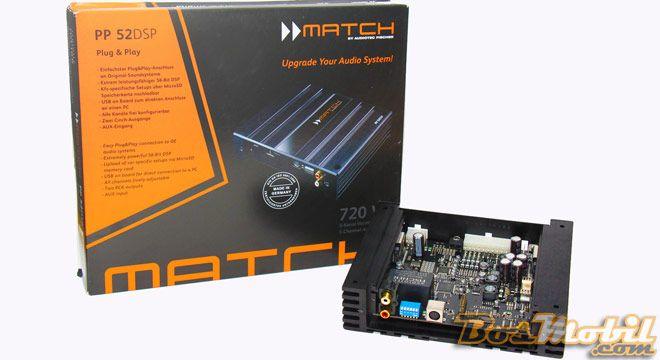 Processor Match PP52DSP #infomodifikasi #BosMobil