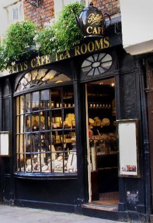 Betty's Tea Rooms York -  Quintessential tea & fancies.