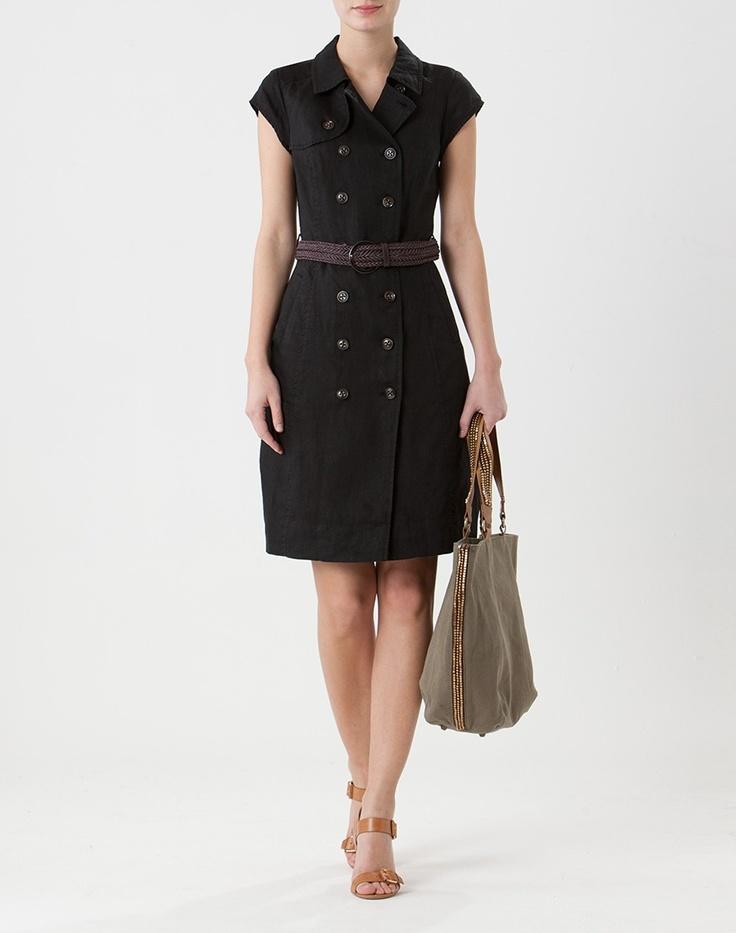 robe saharienne en lin noura 123 paris pinterest robes. Black Bedroom Furniture Sets. Home Design Ideas