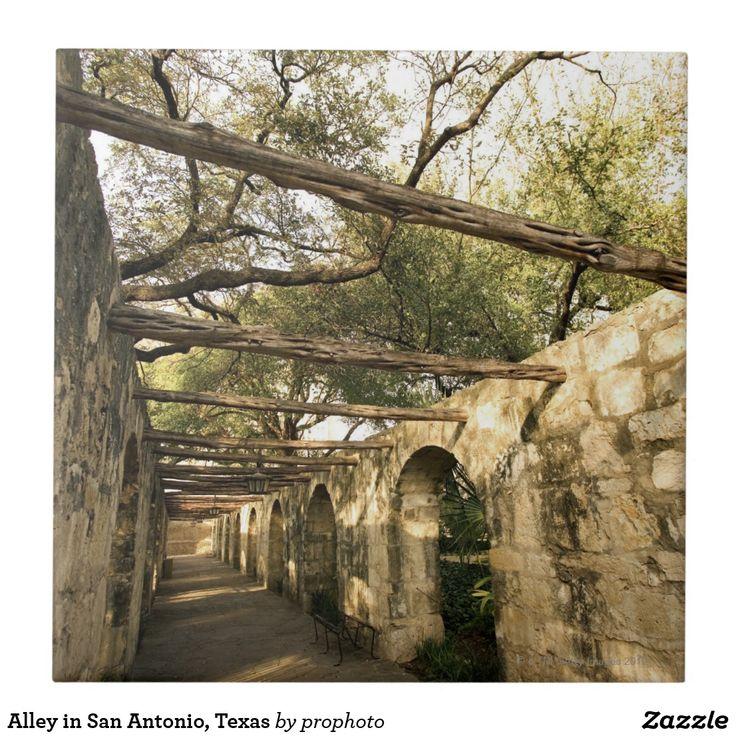 Alley in San Antonio, Texas. Affiliate link.