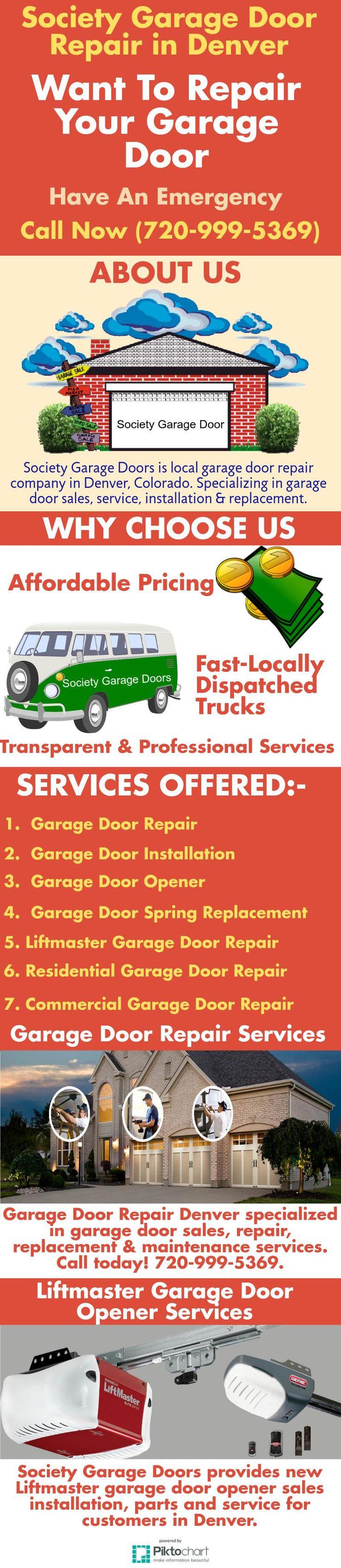 society garage doors is local garage door repair company in denver colorado our team