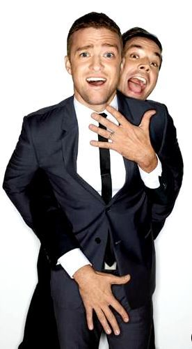 Jimmy Fallon and Justin Timberlake