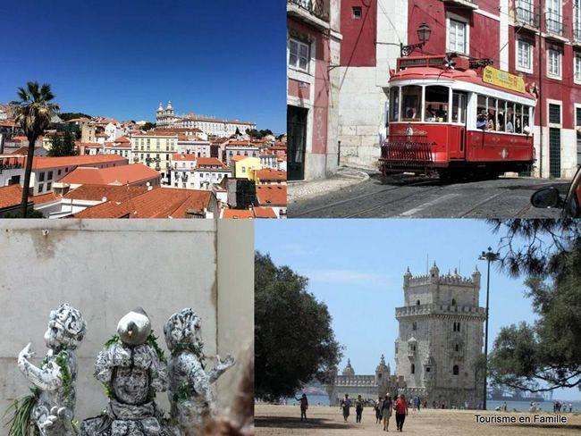 Lisbonne avec des enfants   Via tourisme en famille - Lisbonne et sa région attirent chaque année de plus en plus de touristes … et de familles tant les lieux se prêtent à ce type de clientèle : la ville est sûre, la ville n'est pas chère et la ville est belle ! Tout est réuni pour en faire une destination familiale idéale ! #Portugal