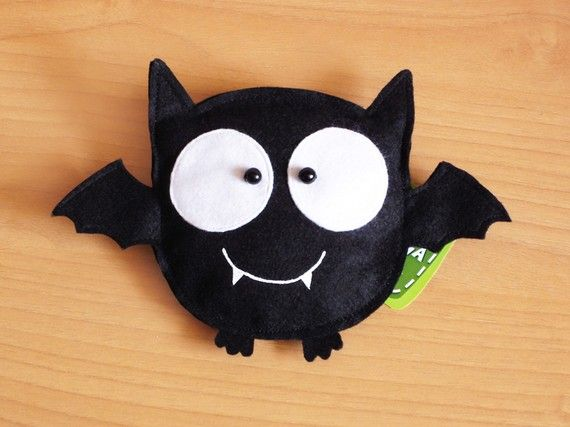 Bat Boy -Purse- Trick or Treat. via Etsy.
