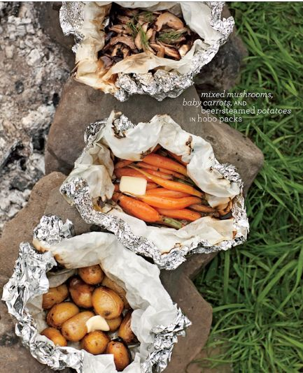 Campfire Packets ~ Yum!