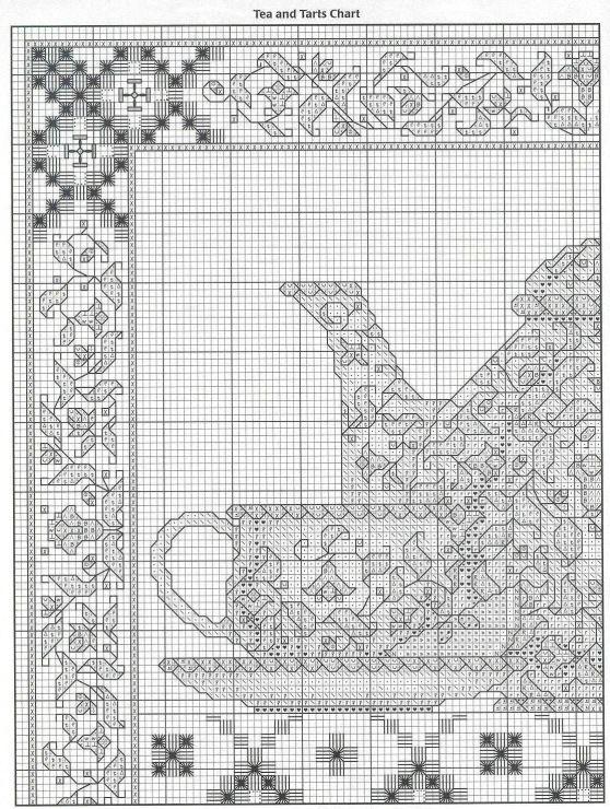 Gallery.ru / Фото #1 - чайник с цветочным орнаментом - muha-cc