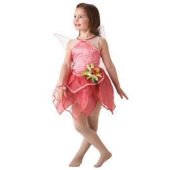 Tinkerbell Çocuk Kostüm 3-4 Yaş Rosetta Lüks