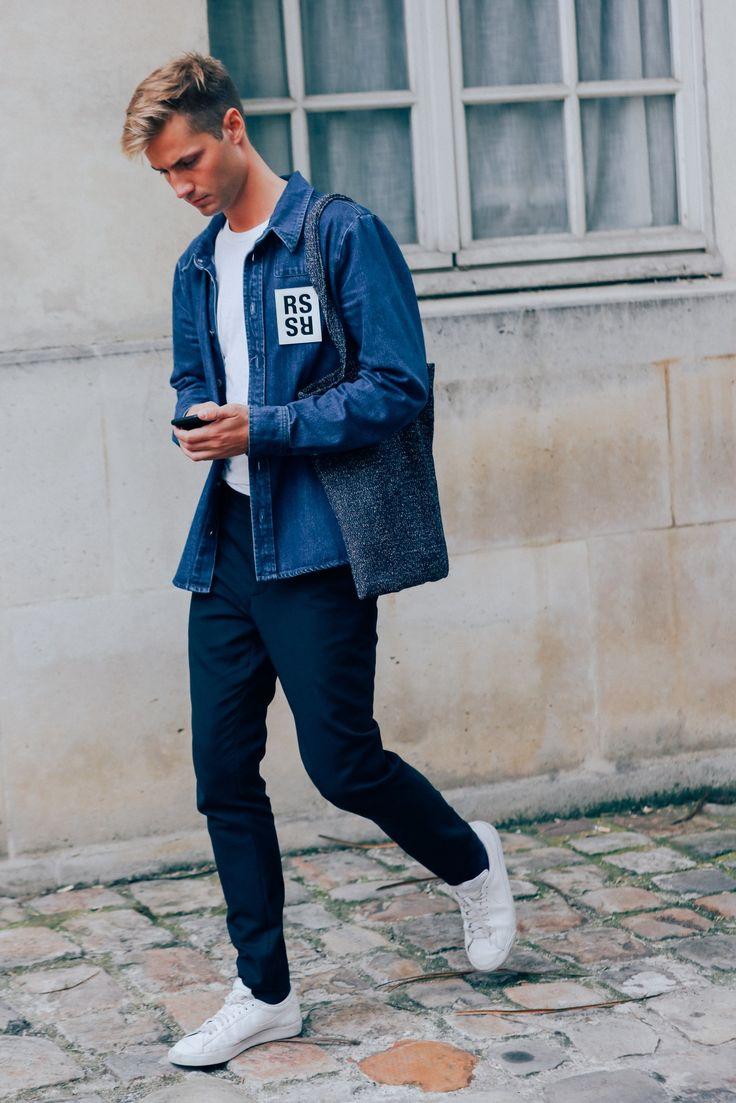 The Best Street Style from Paris Fashion Week Photos | GQ|| Follow @filetlondon for more street wear style #filetlondon