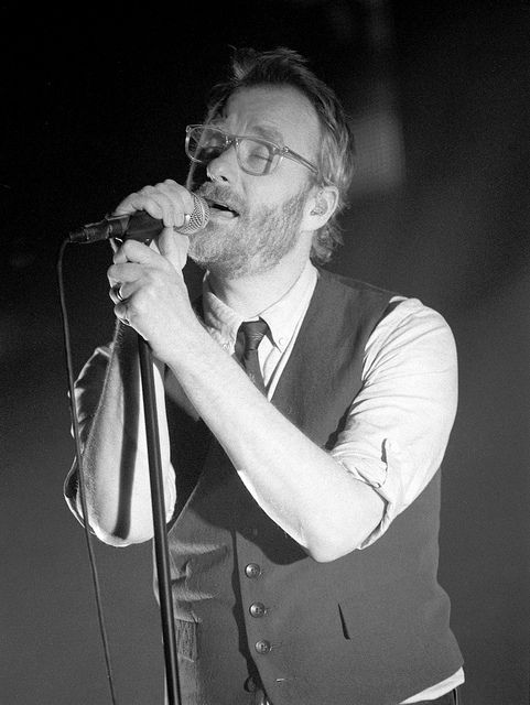 The National- I'm literally obsessed with this human.