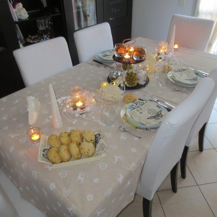 Tavolo per capodanno/table pour Nouvel An
