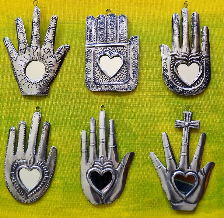 Mexican hands. Gorgeous little decor items.
